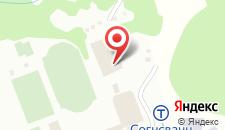 Отель Olympiatoppen Sportshotel - Scandic Partner на карте
