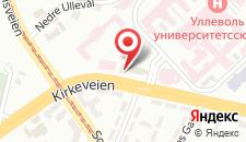 Отель Ullevål Hotel на карте
