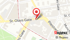 Отель Smarthotel Oslo на карте
