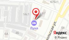Отель Луна на карте