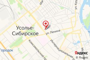 Адрес Иркутскэнергосбыт на карте