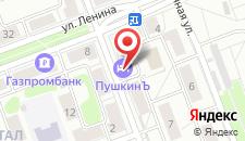 Гостиница ПушкинЪ на карте