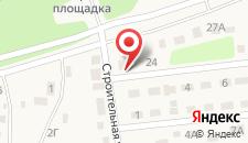 Отель Прибой на карте