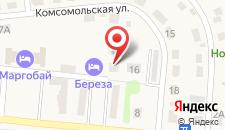 Дом для отпуска на Берёзовом на карте