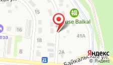 Гостевой дом Байкал на карте