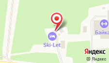 Отель Ски-Лет на карте