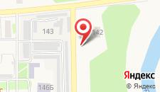 Отель Космос на карте
