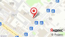Гостиница Matreshka на карте