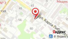 Бизнес-отель Дельта на карте