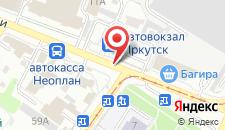 Гостиница Автовокзал на карте