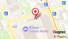 Отель ГЛОРИЯ на карте