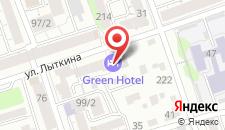 Гостиница Грин на карте