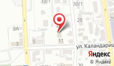Гостевой дом Кузя на карте