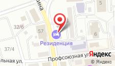 Гостиница Резиденция Комфорт на карте