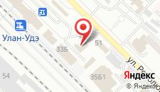 Отель Ольхон на карте