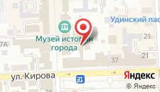 Отель Меньшиковъ на карте