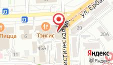 Гостиница Байкал Плаза на карте