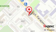 Гостиница Одон на карте