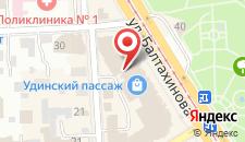 Отель Boston на Балтахинова на карте
