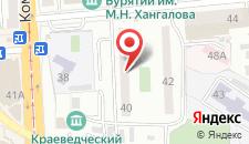Апартаменты На Профсоюзной, 40 на карте