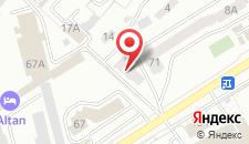 Отель Ikiries на карте