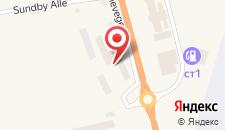 Отель Gardermoen Airport Hotel на карте