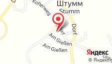 Отель Hotel Zum Pinzger на карте