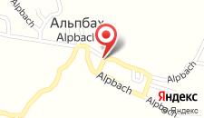 Апартаменты Appartement Alpina на карте