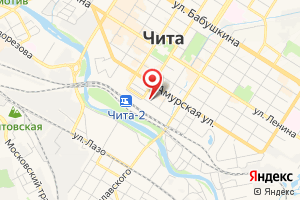 Адрес Коммунальник г. Чита на карте