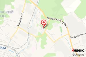 Адрес МРСК Сибири Читаэнерго на карте