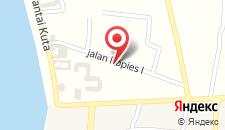 Отель Masainn Hotel Kuta на карте