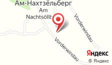 Семейный отель Haus Glanzern на карте