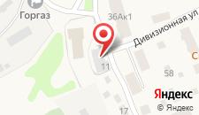 Гостиница Персона на карте