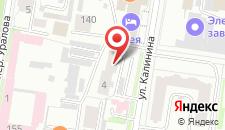 Гостиница Зея на карте