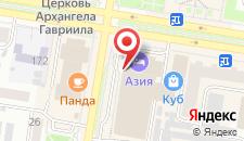 Отель Азия на карте
