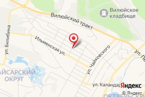 Адрес Стационарная насосная станция на карте
