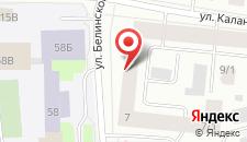 Гостиница Пентхаус на карте