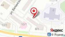 Мини-отель Ангел на карте