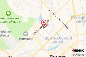 Адрес Техэкспо на карте