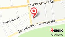 Отель Hotel Ganslhof на карте