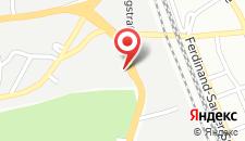 Отель MEININGER Hotel Salzburg City Center на карте