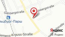 Отель Hotel Heffterhof на карте