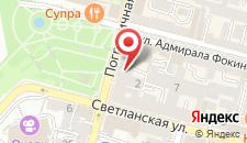 Апарт-отель Арбат-Владивосток на карте