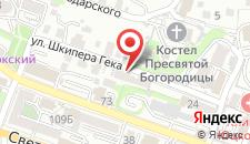 Хостел Мариинка на карте