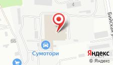 Гостиница Hinotel на карте