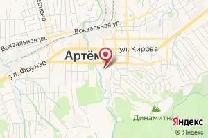 Адрес КГУП Приморский водоконал, ПП Артемводоконал на карте