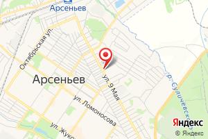 Адрес Приморский ГАЗ Арсеньев Межрайгаз филиал на карте