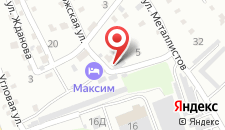 Жилой комплекс Максим на карте