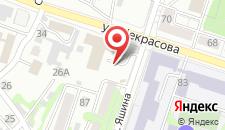 Отель Ерофей на карте