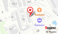 Гостиничный комплекс Каньон на карте